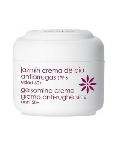 Crema facial antiarrugas SPF6 de jazmin