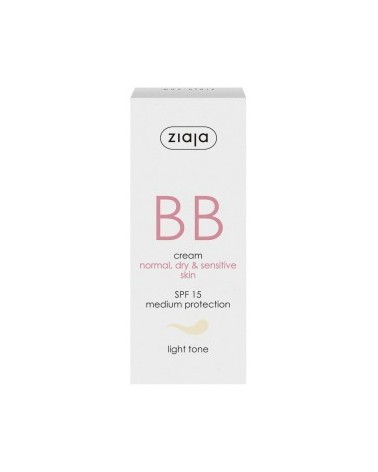 BB cream pieles normales, secas y sensibles SPF15 Tono Claro