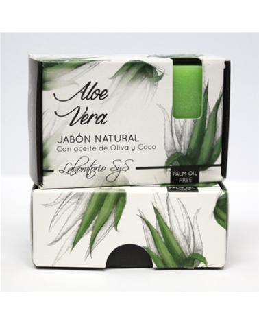 Jabón natural premium Aloe Vera 100 gr