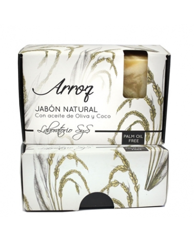 Jabón natural premium Arroz 100 gr
