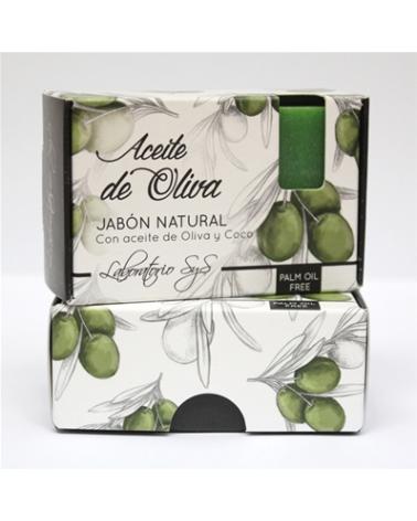 Jabón natural premium Aceite de Oliva 100 gr