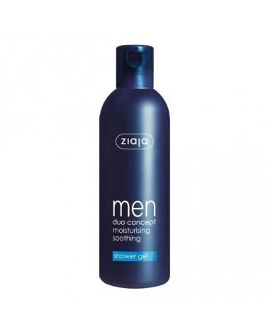 Gel de ducha para hombre hidratante y refrescante.