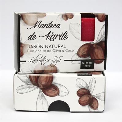 Jabón natural premium Manteca de Karite 100 gr