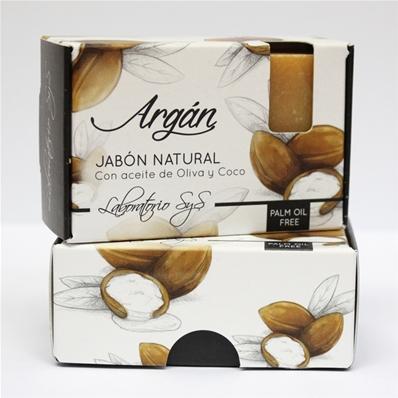 Jabón natural premium Argan 100 gr