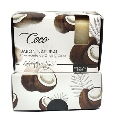 Jabón natural premium Coco 100 gr