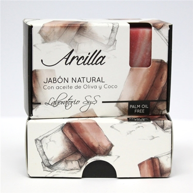 Jabón natural premium Arcilla 100 gr