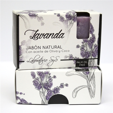 Jabón natural premium Lavanda 100 gr