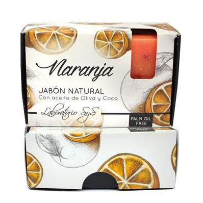 Jabón natural premium Naranja 100 gr