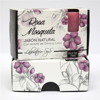 Jabón natural premium Rosa Mosqueta 100 gr