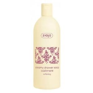 Jabón de ducha cremoso con proteínas de cachemir y glicerina.